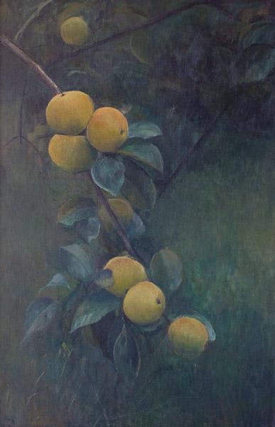Manzano – Óleo sTabla 30x50cm – Colección particular