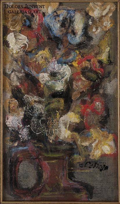 Orlando Pelayo - Jarrón con flores