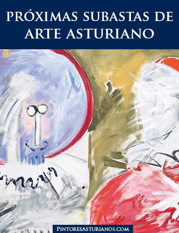 Próximas subastas de arte asturiano