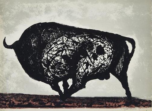 Tres litografias de Vaquero Turcios en la Galería Waddington's de Toronto