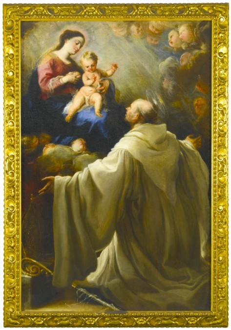 "El Carreño Miranda ""Virgen lactante con San Bernardo"" vendido en Sotheby´s London por 61.000 euros"