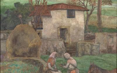 Dos obras maestras de Evaristo Valle y Luis Fernandez en la subasta de Fernando Durán